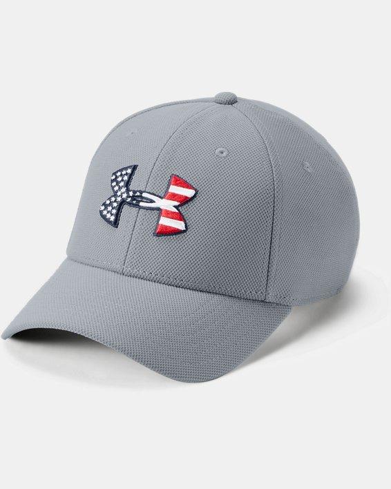 Men's UA Freedom Blitzing Cap, Gray, pdpMainDesktop image number 0
