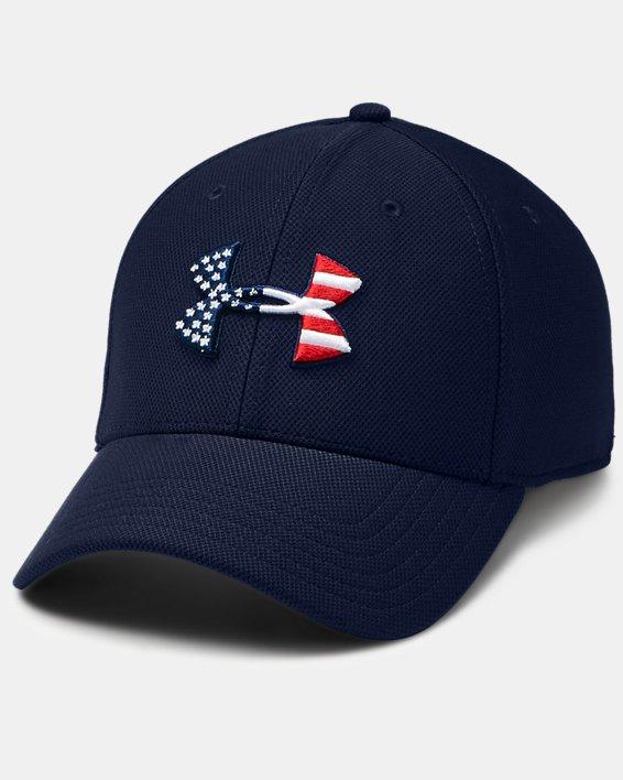 Men's UA Freedom Blitzing Cap, Navy, pdpMainDesktop image number 0
