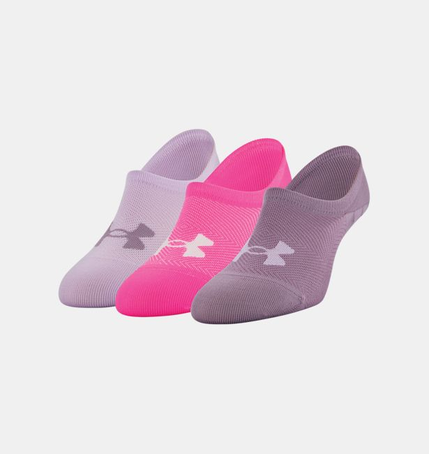 470ae8a6 Women's UA Essential Ultra Low Liner Socks 3-Pack in Single-color ...