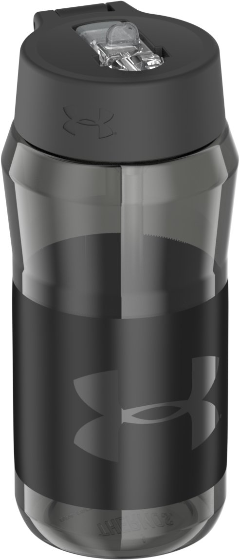UA Eastman Tritan™ 18 oz. Straw-Top Bottle, Graphite