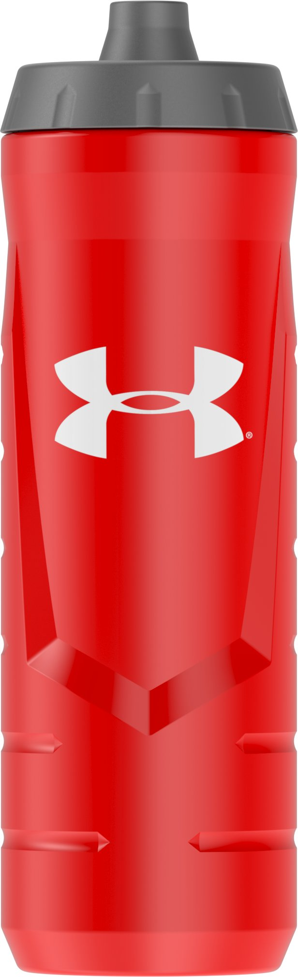 UA Sideline 32 oz. Squeeze Bottle, Red