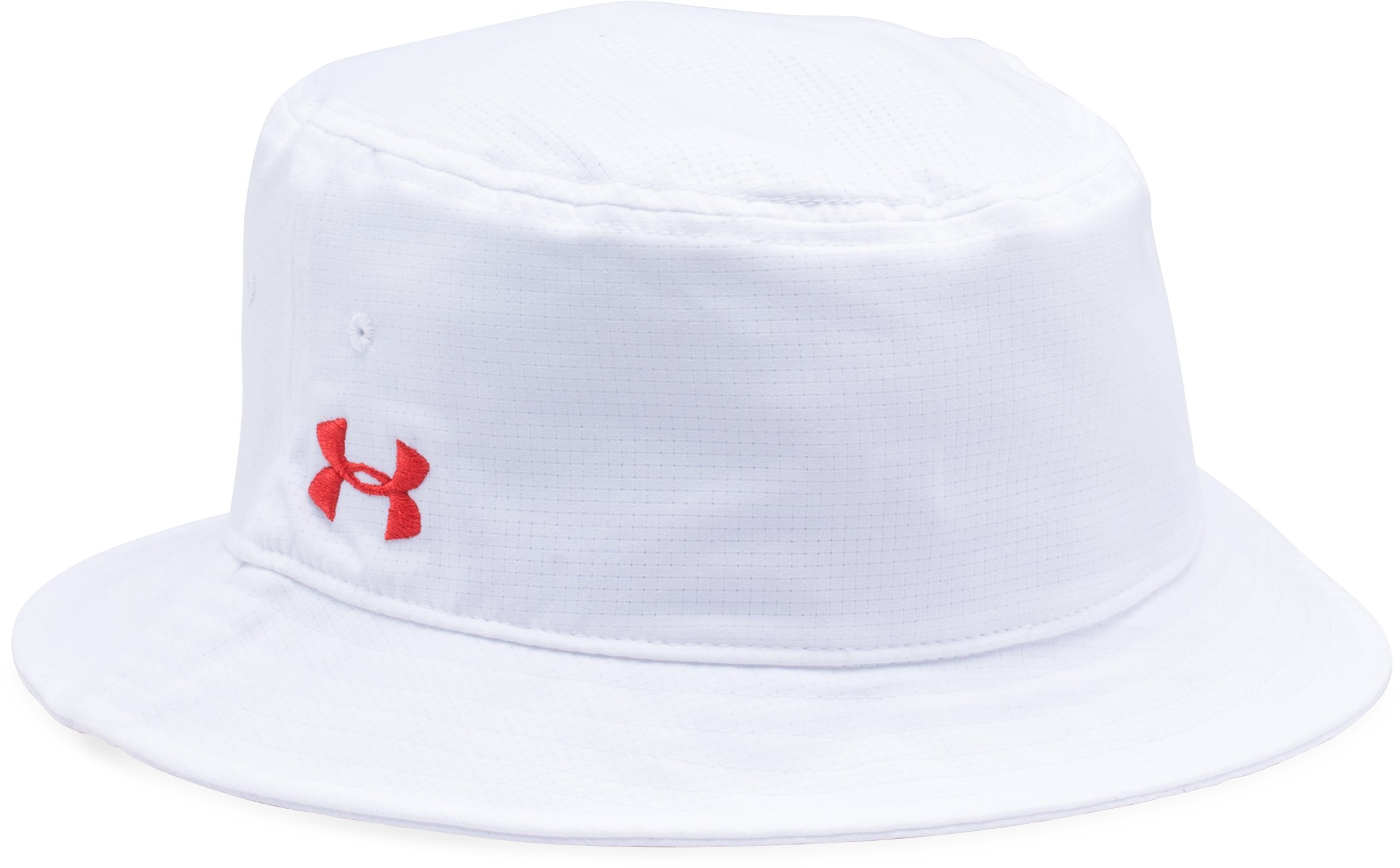 Men's UA ArmourVent™ Bucket Hat, White, undefined