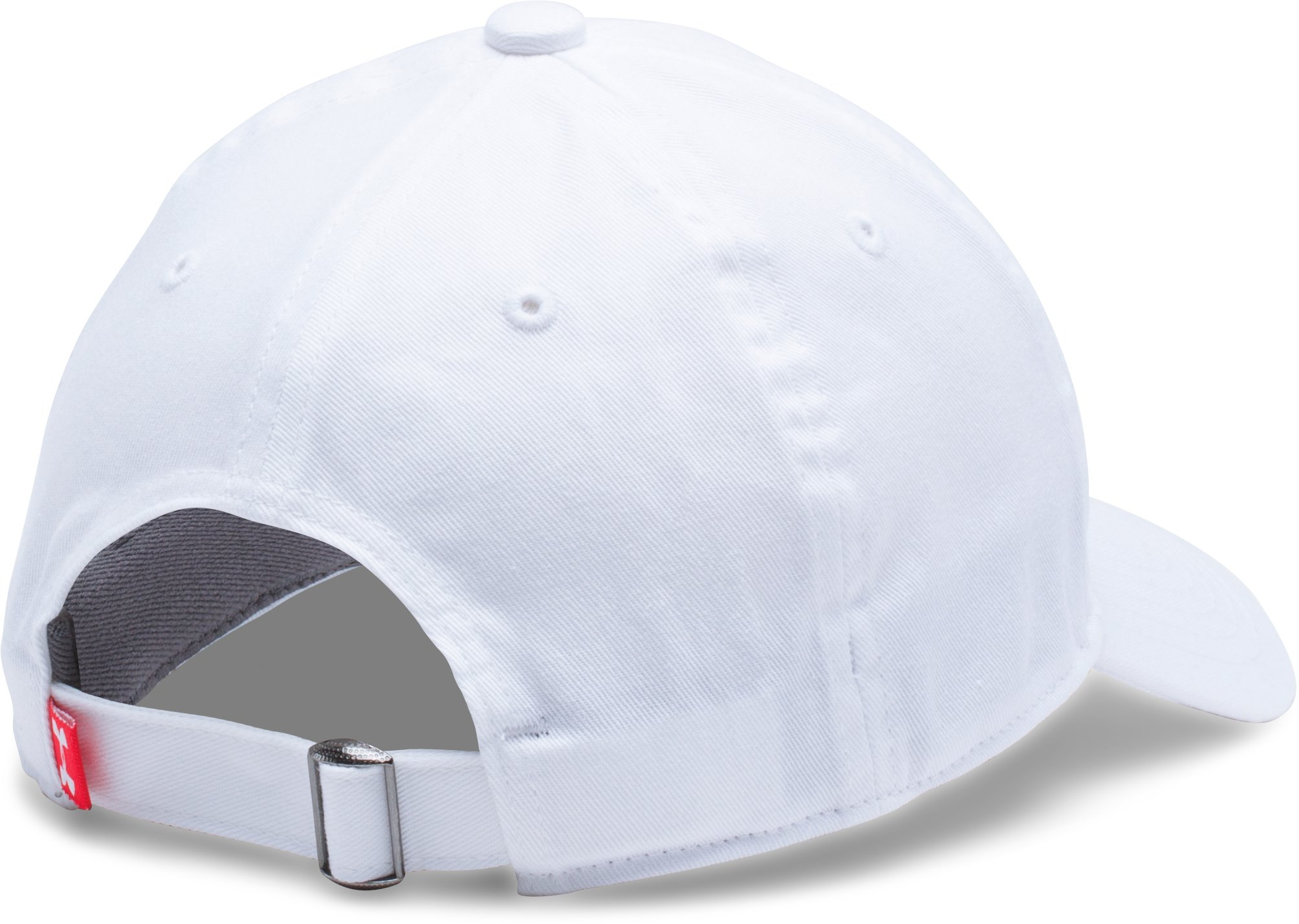 Boy's Micro Logo Dad Cap, White, undefined