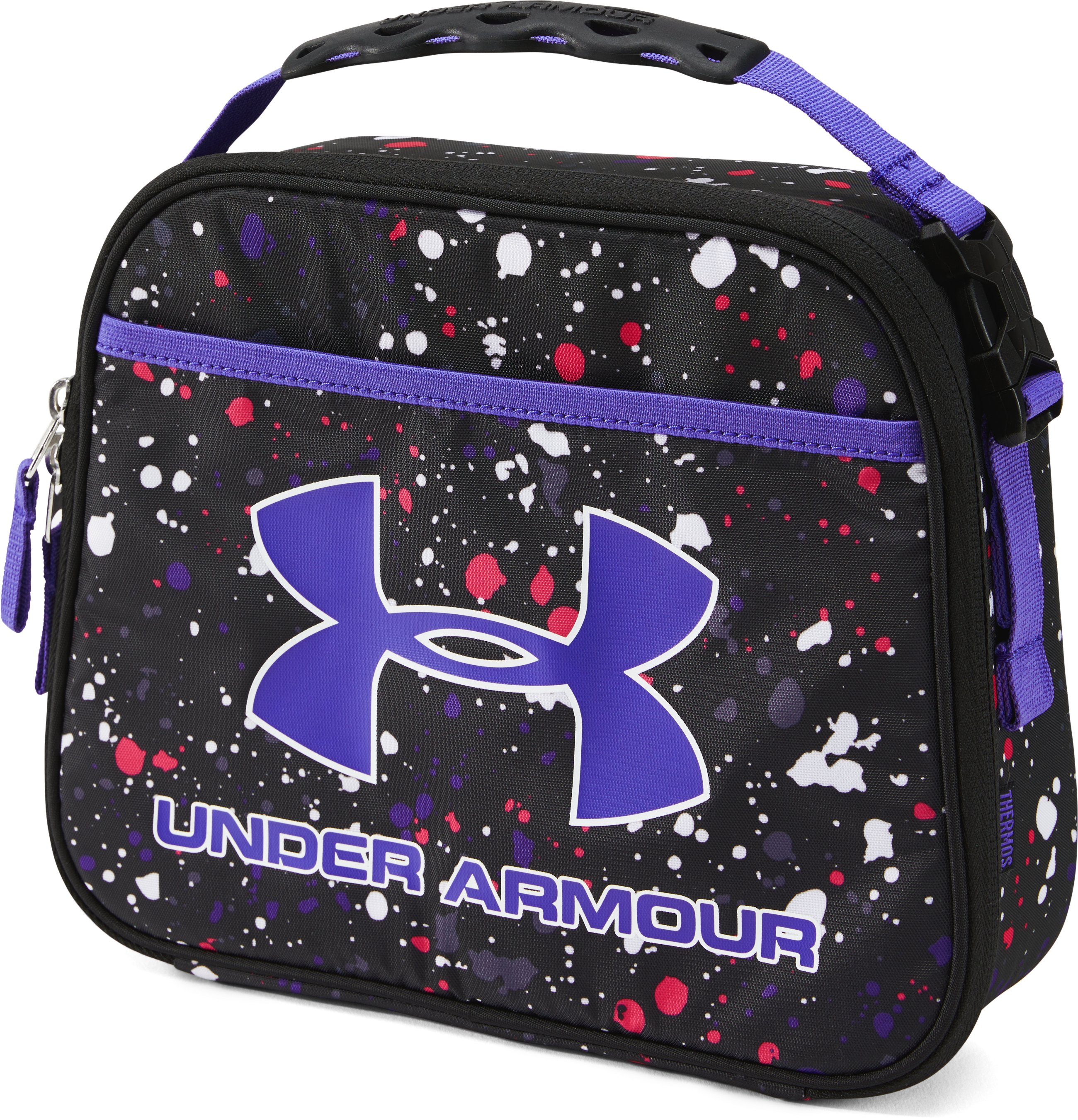 Girls' UA Lunch Box, Black ,