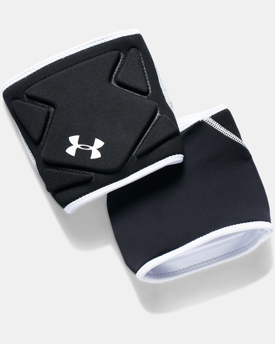 Men's UA Switch 2.0 Volleyball Knee Pads, Black, pdpMainDesktop image number 2