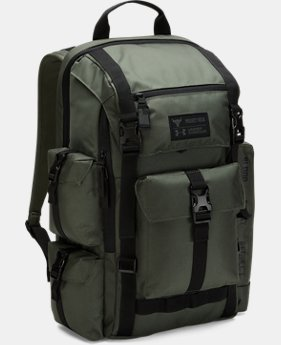 New Arrival UA x Project Rock USDNA Regiment Backpack  2 Colors $134.99