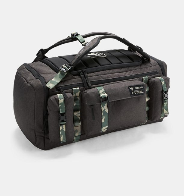 12193878fac Project Rock USDNA Range Duffle | Under Armour US