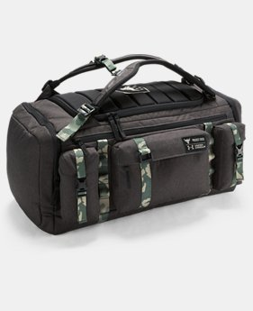 Best Seller UA x Project Rock USDNA Range Duffle  2 Colors $159.99