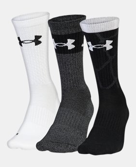 7a2362695 New to Outlet Men's UA Phenom SC30 2.0 Crew Socks 1 Color Available $17.99