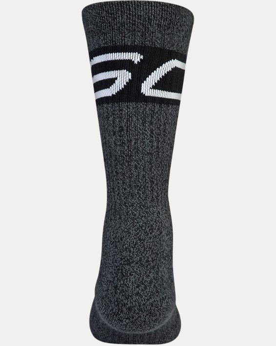 Boys SC30 Phenom 2.0 Crew Socks, Black, pdpMainDesktop image number 5