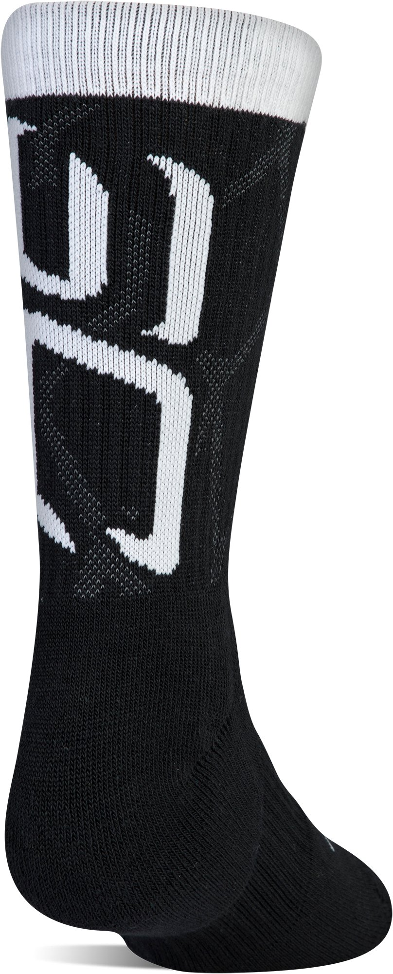 Boys SC30 Phenom 2.0 Crew Socks 3-Pack, Black ,