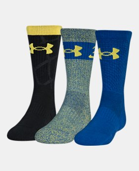 7f0a4b2b812 Boys SC30 Phenom 2.0 Crew Socks 3-Pack 1 Color Available  25