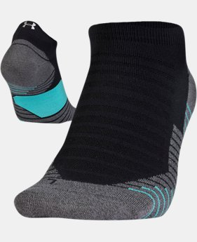 UA Run No Show Tab Running Socks  1  Color Available $11.05