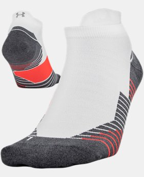 UA Run No Show Tab Running Socks  1  Color Available $13