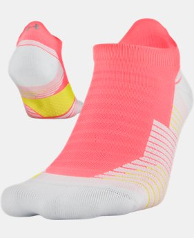 UA Run Cushion No Show Tab Running Socks  1  Color $13