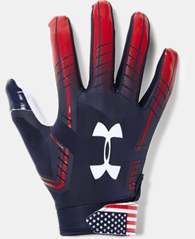 New Arrival Men's UA F6 LE Football Gloves  1  Color $40