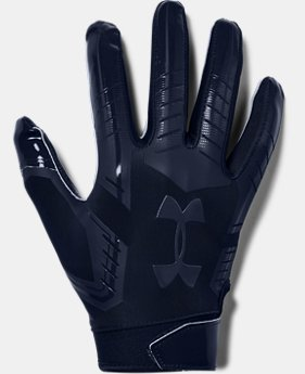 Men's UA F6 LE Football Gloves  2  Colors Available $40