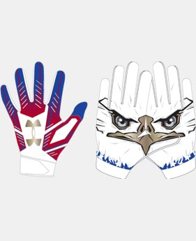 New Arrival Boys' UA F6 LE Football Gloves  1  Color Available $30