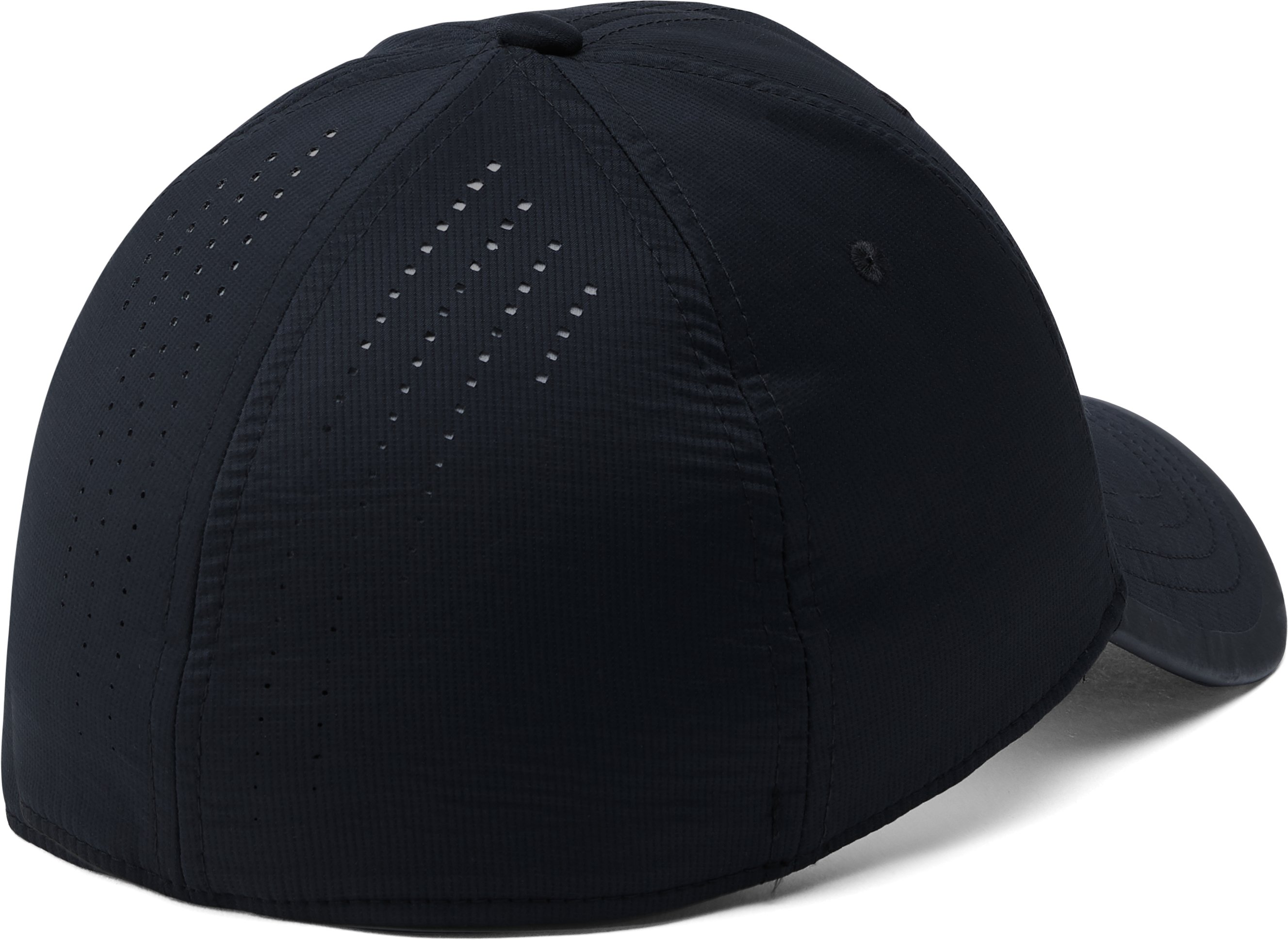 Men's UA x Project Rock Threadborne Training Cap, Black ,