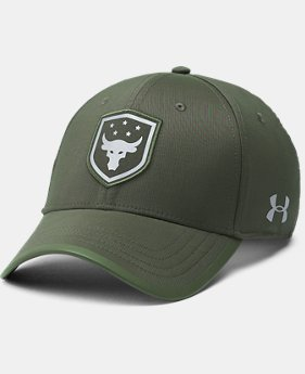 Men's UA x Project Rock Threadborne Training Cap  1 Color $34.99