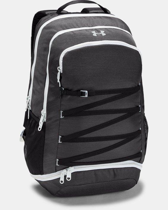 Women's UA Imprint Backpack, Gray, pdpMainDesktop image number 1