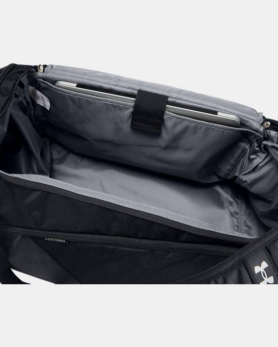 Men's UA Contain 4.0 Backpack Duffle, Black, pdpMainDesktop image number 3