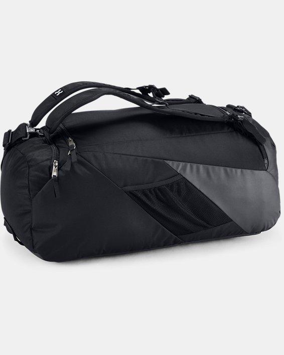 Men's UA Contain 4.0 Backpack Duffle, Black, pdpMainDesktop image number 1