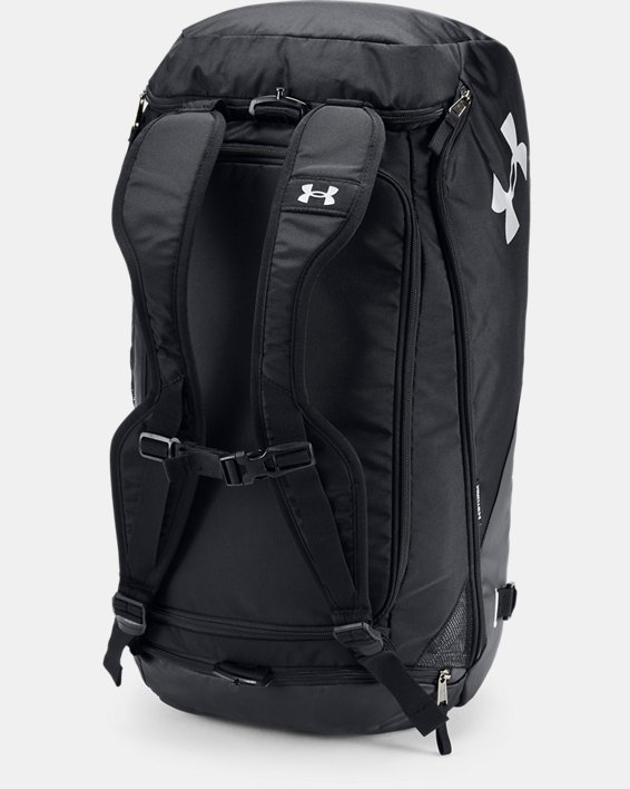 Men's UA Contain 4.0 Backpack Duffle, Black, pdpMainDesktop image number 2