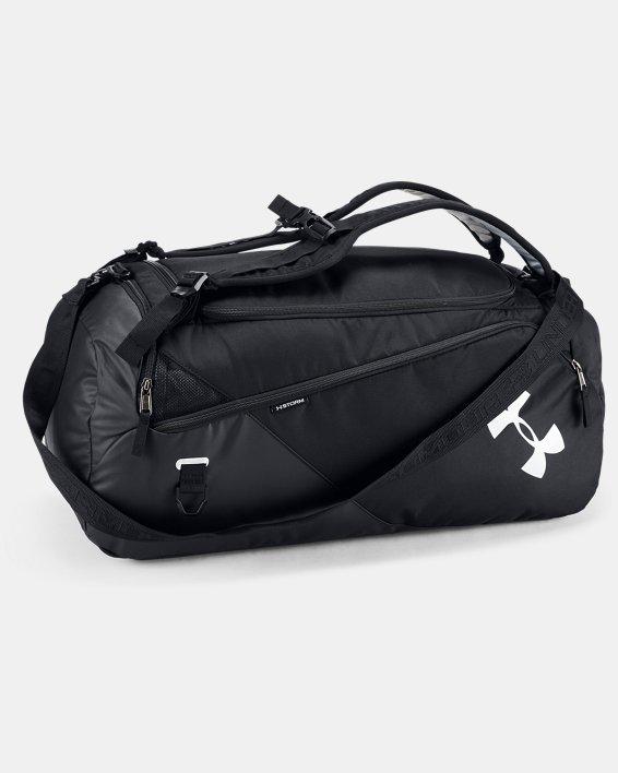 Men's UA Contain 4.0 Backpack Duffle, Black, pdpMainDesktop image number 0
