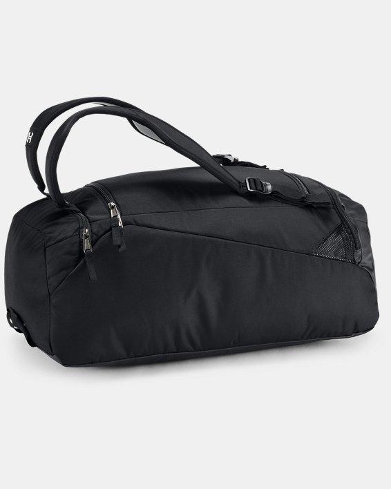 Men's UA Contain Duo 2.0 Backpack Duffle, Black, pdpMainDesktop image number 2