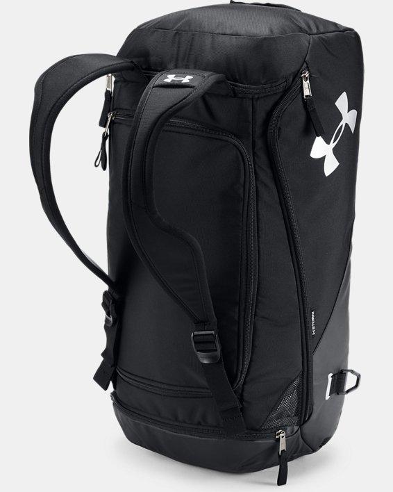 Men's UA Contain Duo 2.0 Backpack Duffle, Black, pdpMainDesktop image number 3