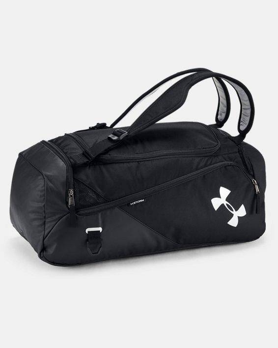 Men's UA Contain Duo 2.0 Backpack Duffle, Black, pdpMainDesktop image number 1