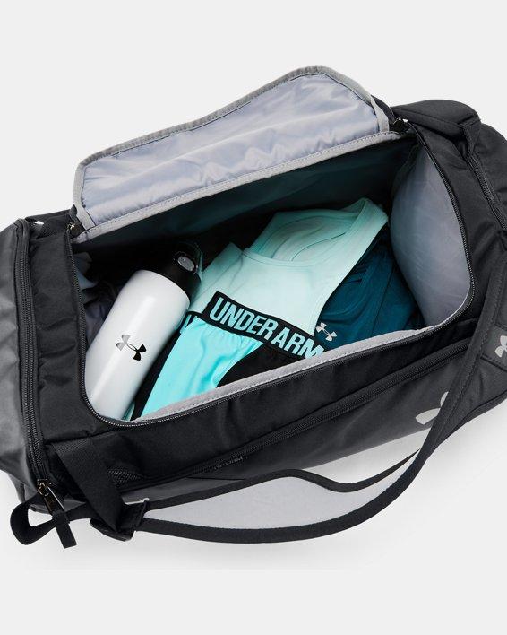Men's UA Contain Duo 2.0 Backpack Duffle, Black, pdpMainDesktop image number 4