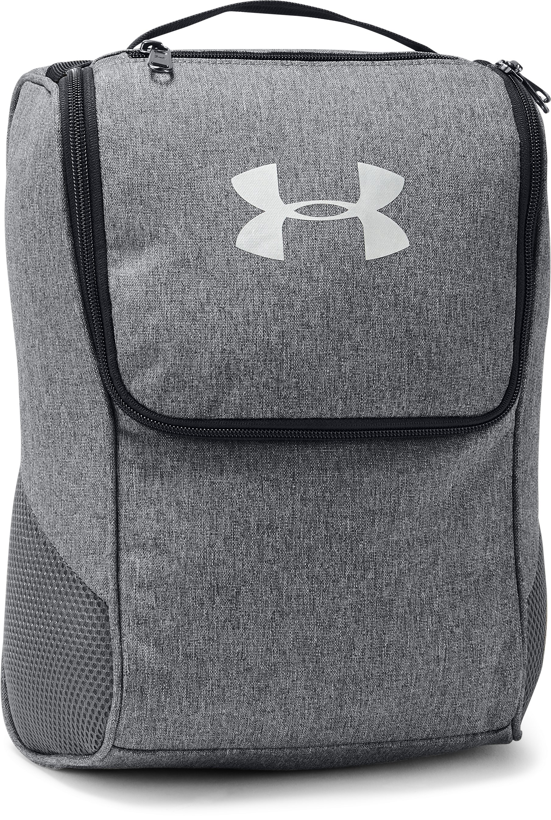 UA Shoe Bag, GRAPHITE MEDIUM HEATHER, zoomed