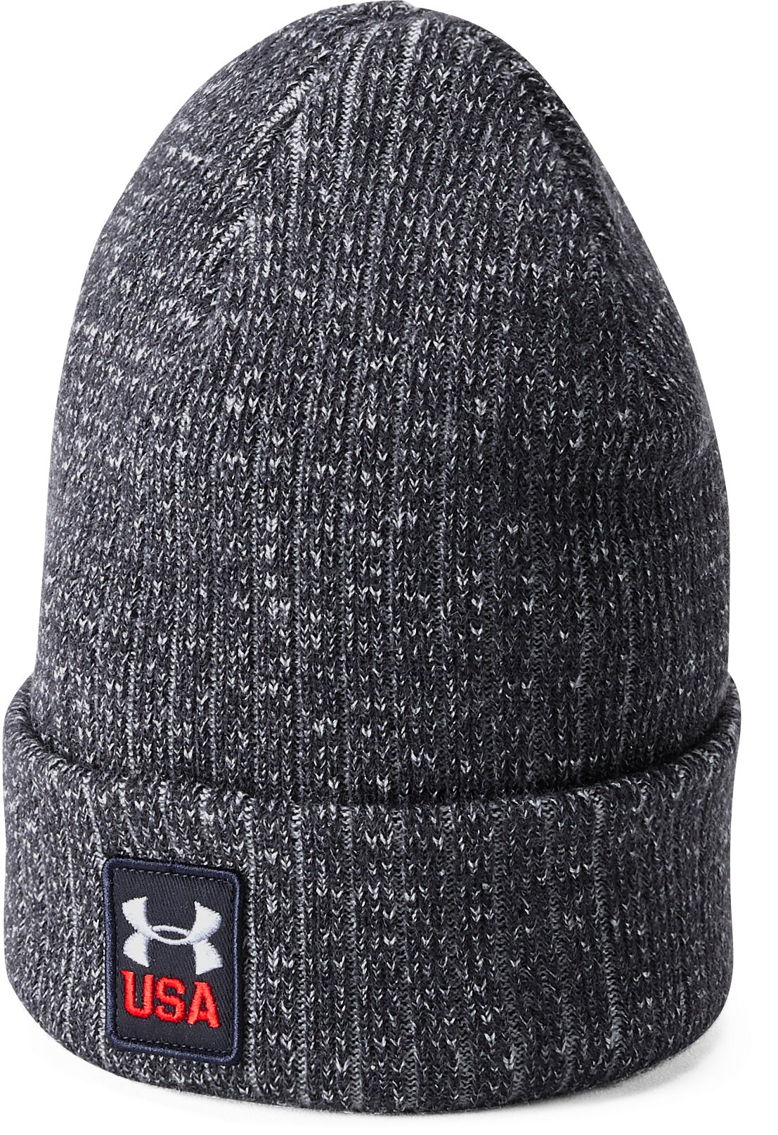 Men's UA Stars & Stripes Truckstop Beanie, ECLIPSE NAVY,