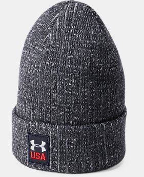 New to Outlet Men's UA Top Step Truckstop Beanie  1 Color $24.99