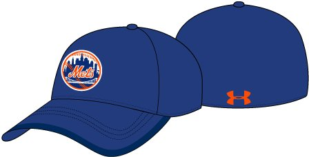 Men's MLB One Panel Cap, Royal, undefined