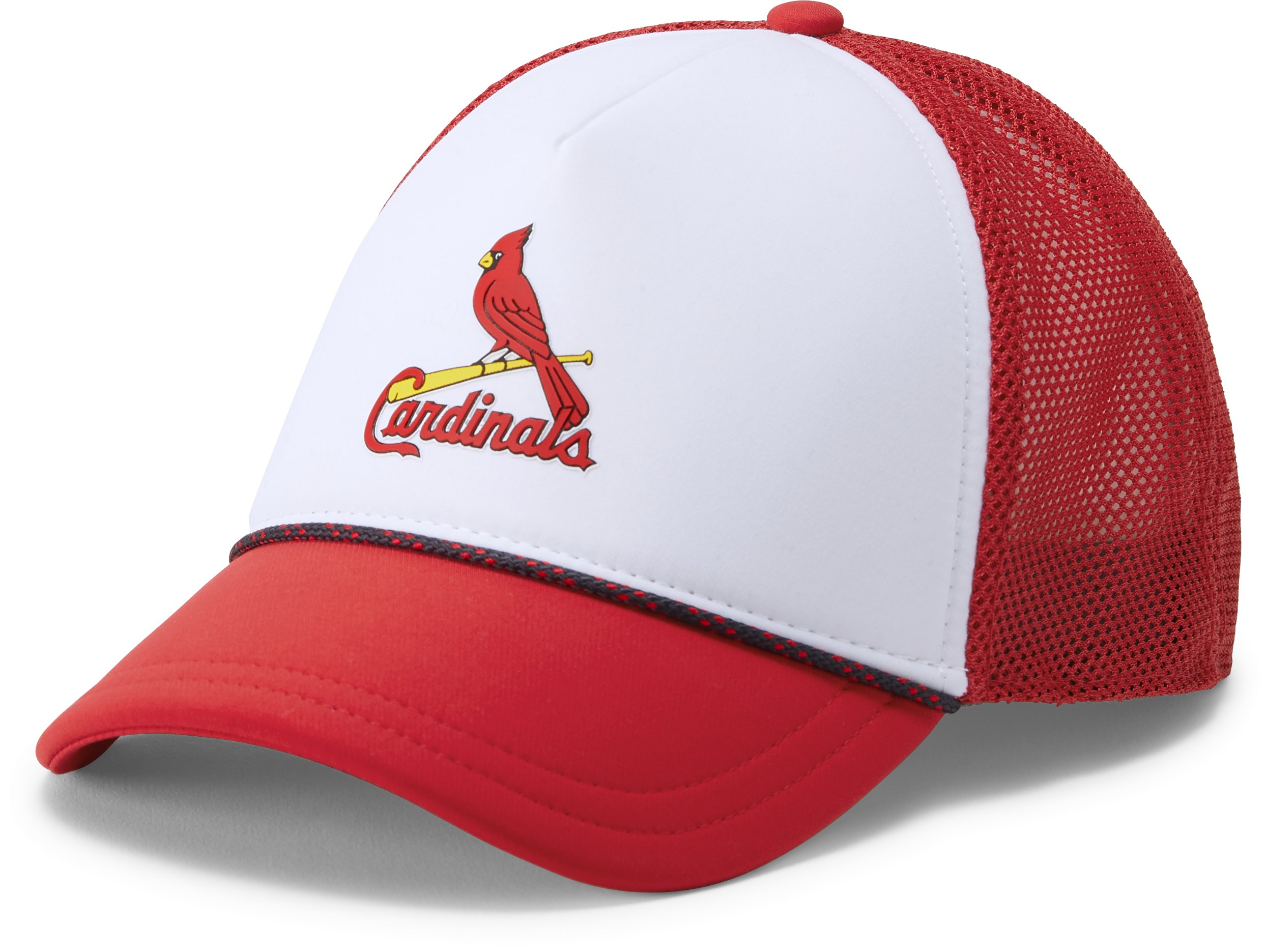 Women's MLB Foam Trucker Cap, White,