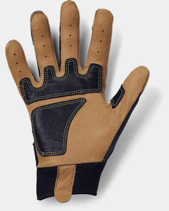 Men's UA Cage Batting Gloves, Black, pdpMainDesktop image number 1