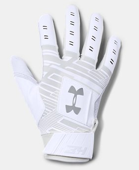 Men's UA Harper Hustle Baseball Gloves  1  Color Available $35
