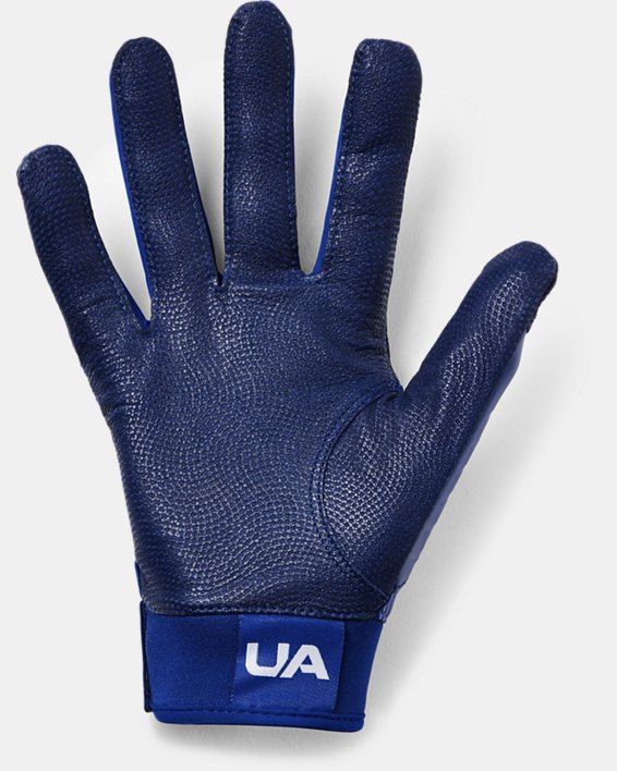 Men's UA Harper Hustle Baseball Gloves, Blue, pdpMainDesktop image number 1