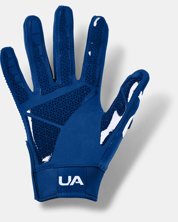 Boys' UA Heater Baseball Gloves, Blue, pdpMainDesktop image number 1