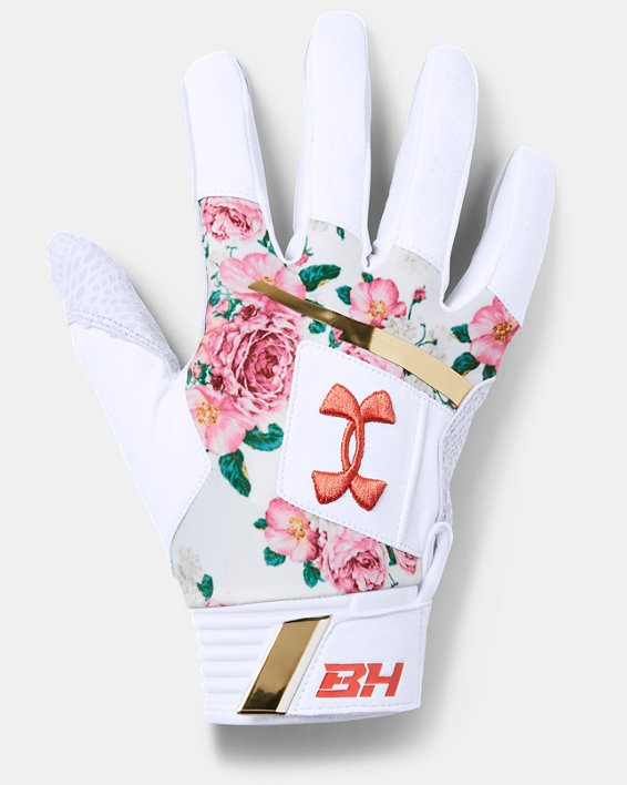 Men's Harper Pro – Limited Edition Batting Gloves, White, pdpMainDesktop image number 0