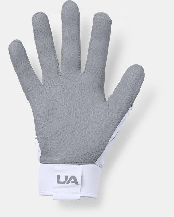 Men's UA Epic Batting Gloves, White, pdpMainDesktop image number 1
