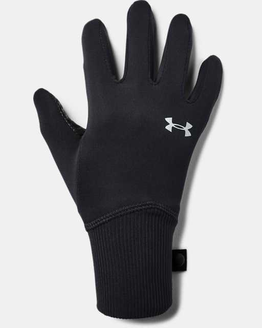 Girls' UA Fleece Liner Gloves