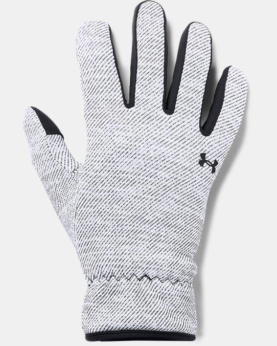 Women's UA Storm Fleece Gloves, Black, pdpMainDesktop image number 0