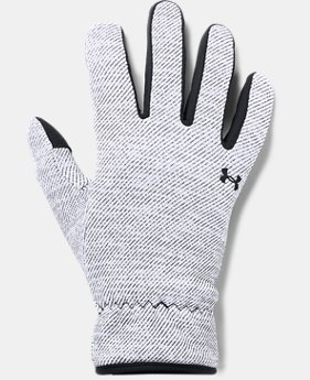 Women's UA Storm Fleece Gloves  2  Colors Available $40