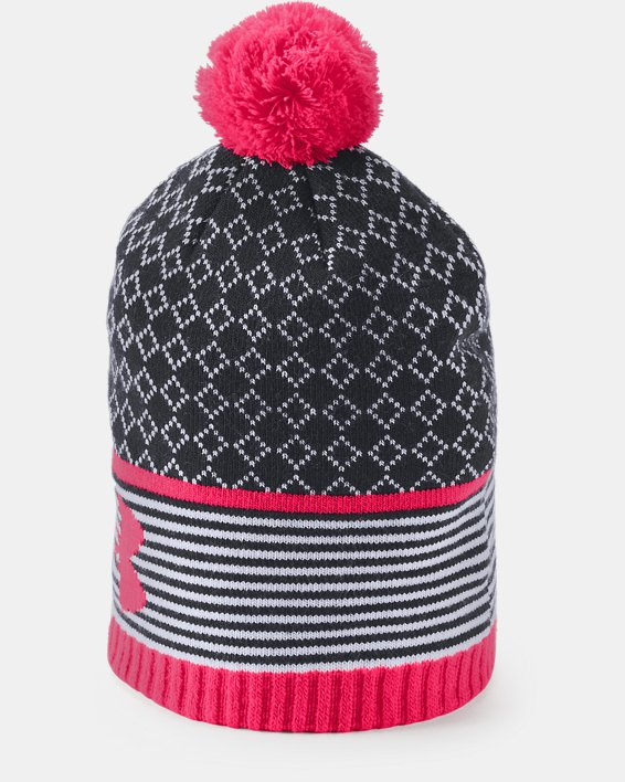 Girls' UA Favorite Beanie, Black, pdpMainDesktop image number 2