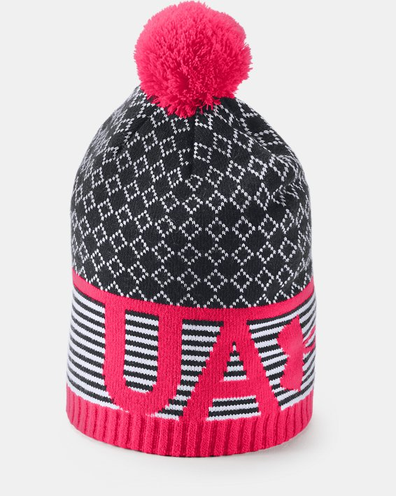 Girls' UA Favorite Beanie, Black, pdpMainDesktop image number 1