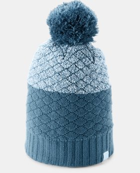 Women's UA Quilted Beanie  1  Color Available $28